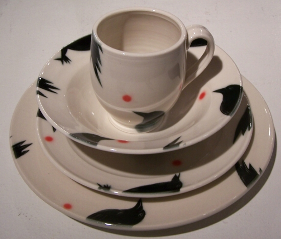 Dinnerware Set With Round Cup picture